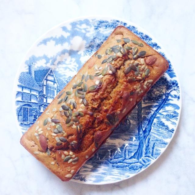 cake banane carotte sans lactose